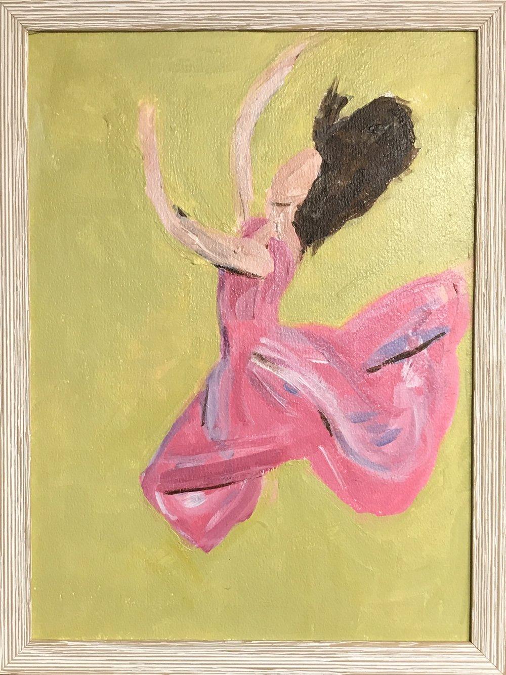 Leaping Dancer III