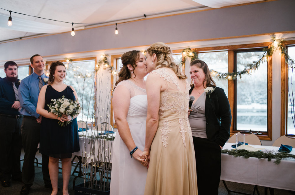 LGBT Wedding FIRST KISS