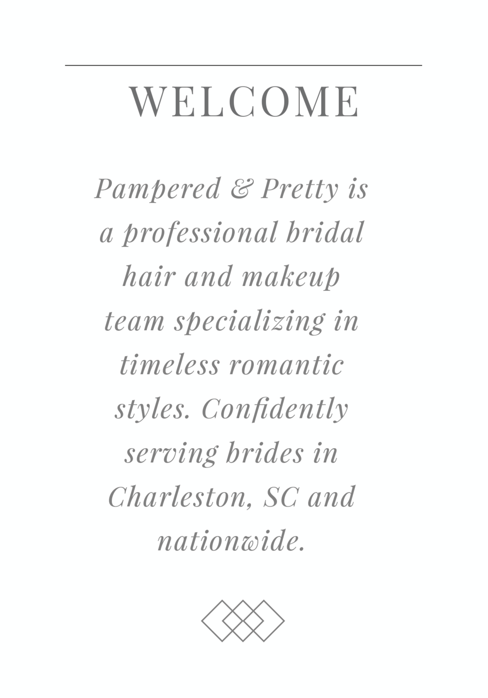 Pampered Pretty Bridal Hair And Makeup Charleston Sc