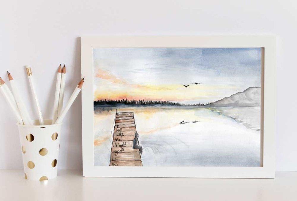 wake-landscape Framed .jpg