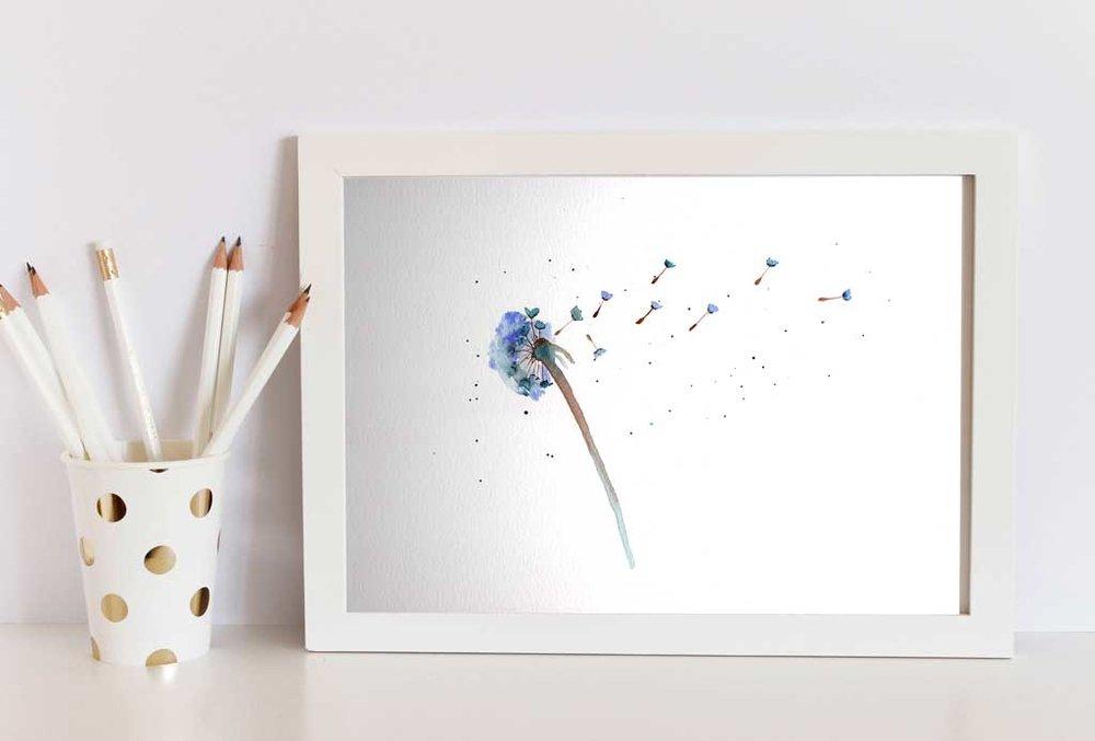 dandelion Framed .jpg