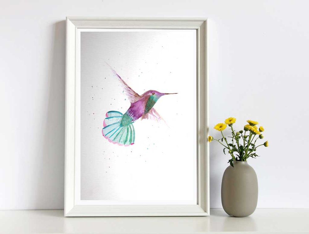 hummingbird Framed .jpg