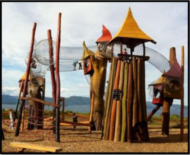 Foto: Uteskoletur til Fabeløya lekepark