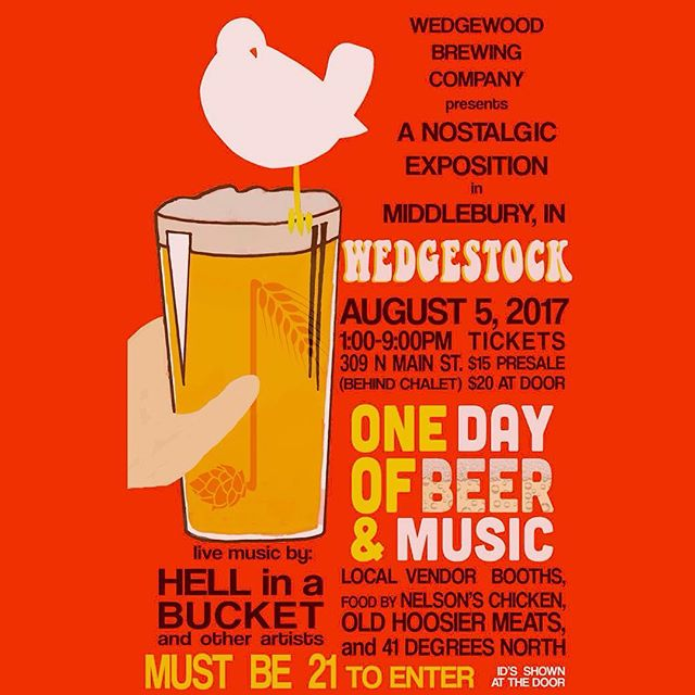 Wedgestock next weekend! There will be epic jams and beer!  #wedgewoodbrewing #phish #gratefuldead #dankbeer