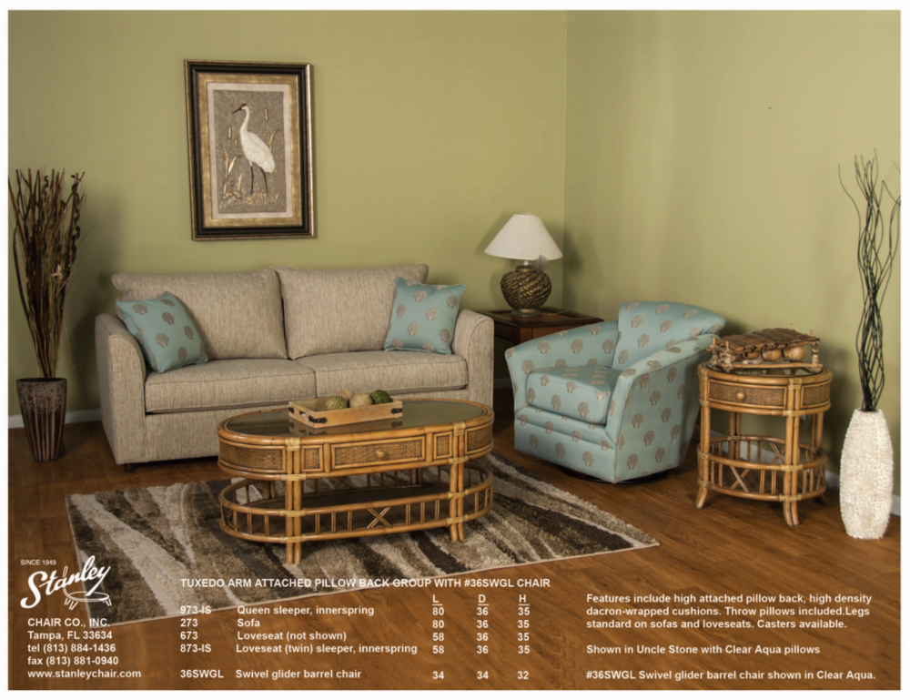 Custom Upholstery U0026amp; Rattan Accent Furniture