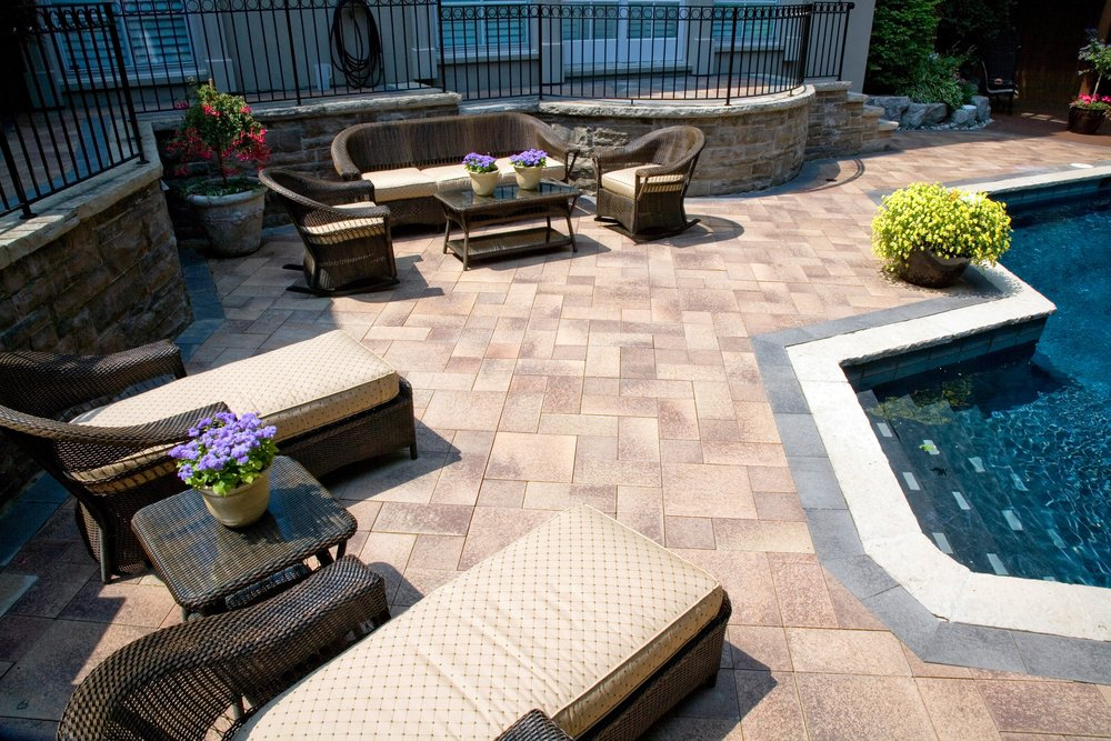 Top landscape design with natural stone in Orange County, NY