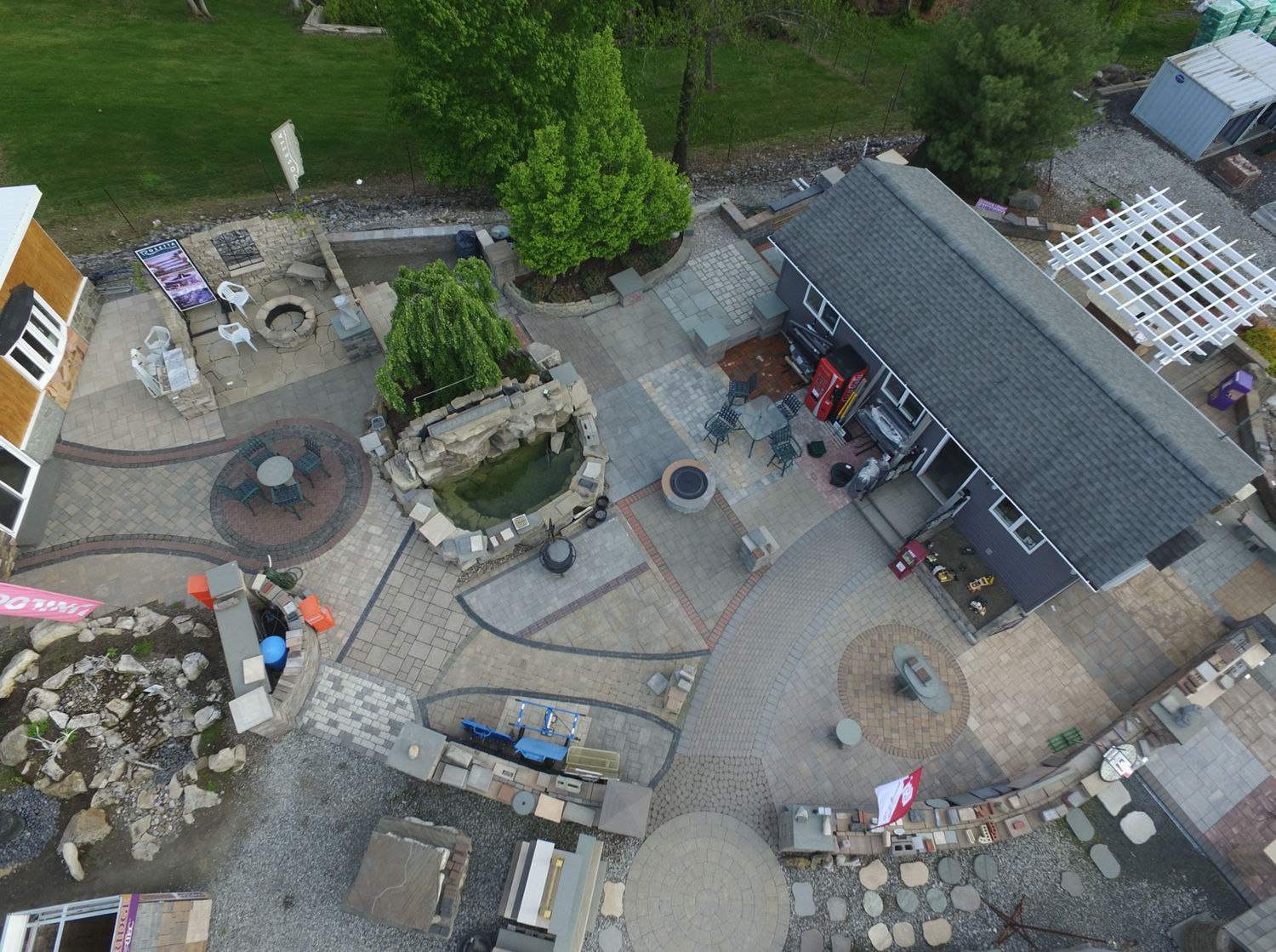natural stone pavers and walls in hudson valley and bergen county