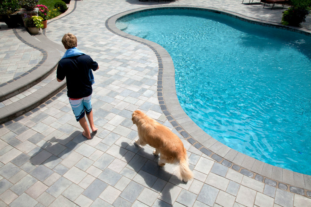 Ideas for Incorporating Concrete Paving Stones into Landscape Design in Bergen County, NJ