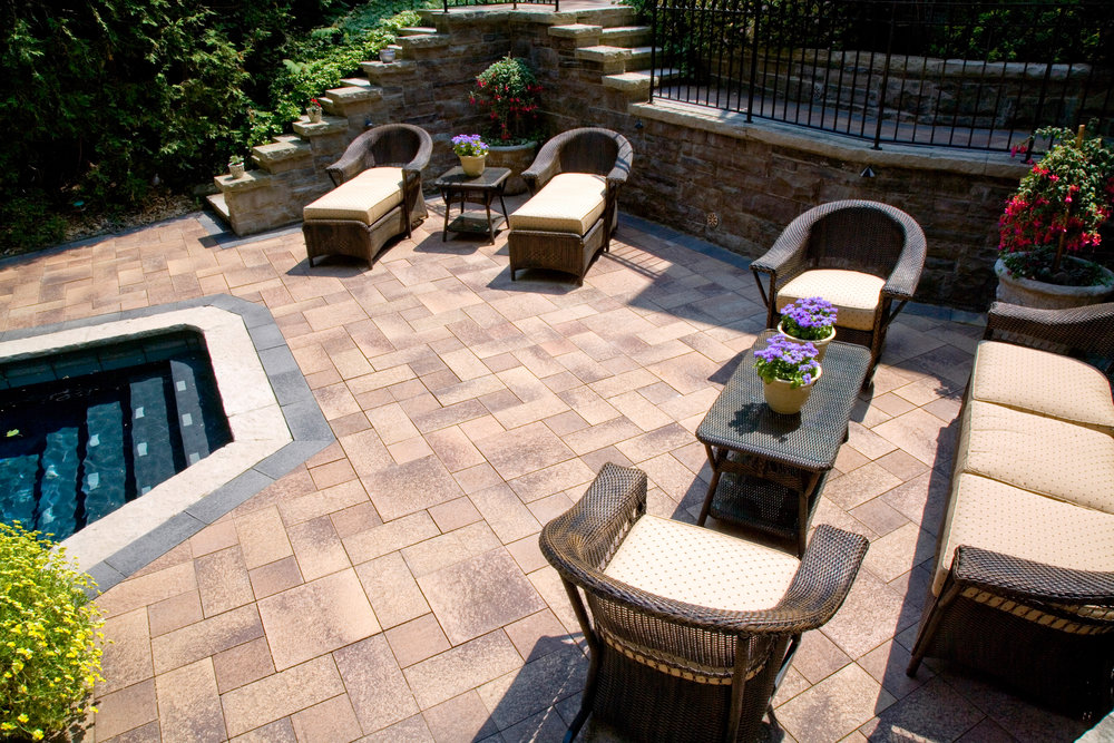 Ideal Waterproof Paving Stones for Pool Decks in Rockland County