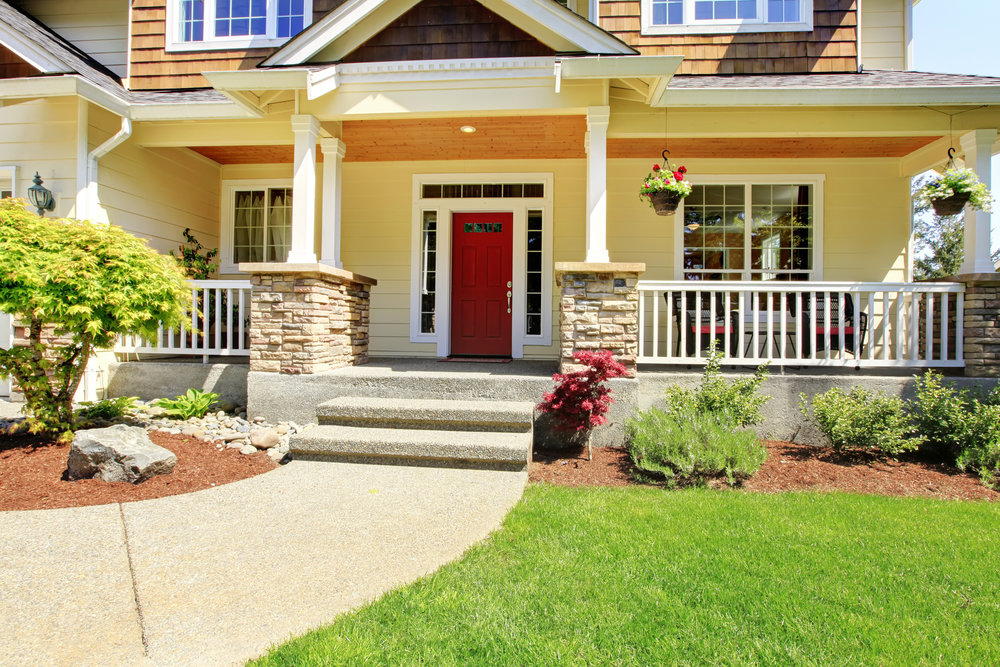 Add Character to Your Sussex County, NJ, Front Yard Projects with Stone Veneer Pillars and Steps