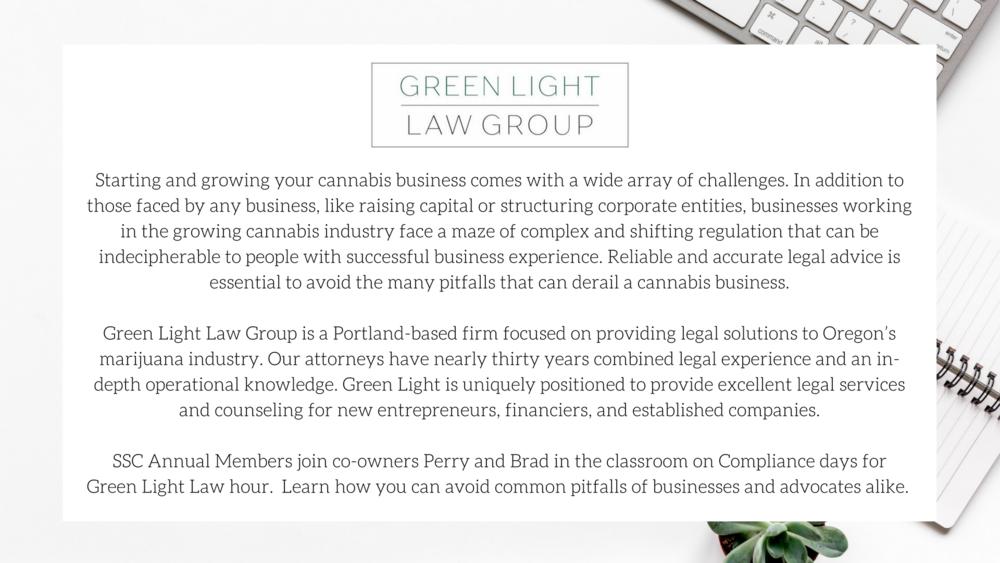 Green Light Law/ Sativa Science Club