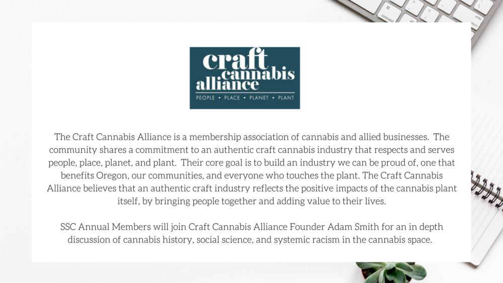 Craft Cannabis Alliance / Sativa Science Club