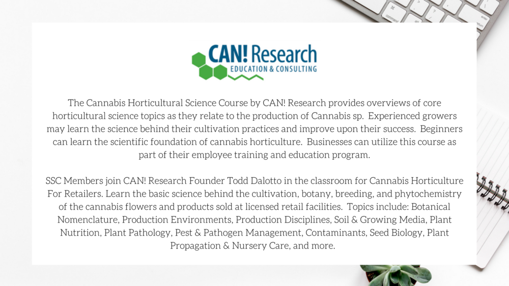 CAN! Research / Sativa Science Club
