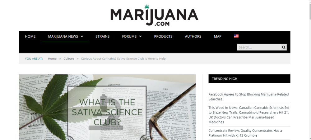 Curious About Cannabis? Sativa Science Club is Here to Help~ Marijuana.Com