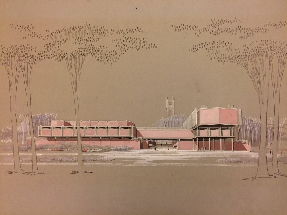 Wellesley College - Jewett Arts Center Conservation Plan - Conservation Management Plan for Paul Rudolph's Jewett Arts Center, his first major institutional work and first outside Florida.Funded by a