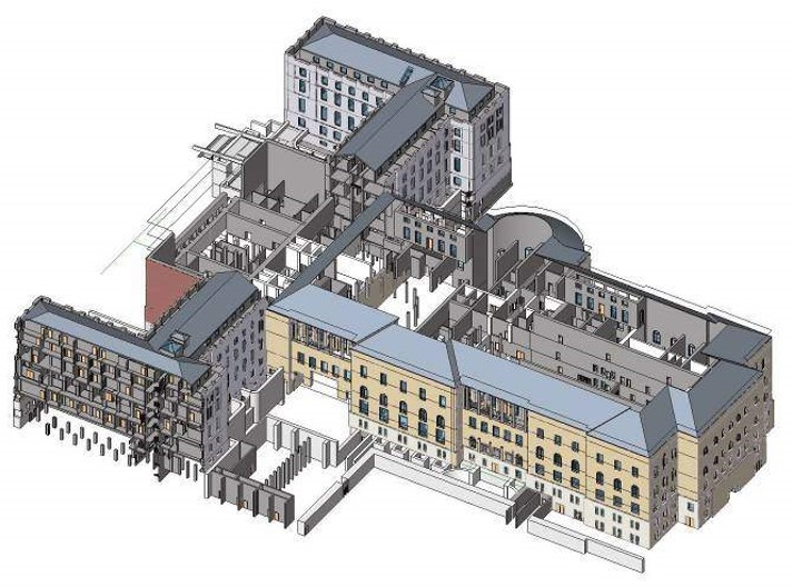 Massachusetts State House, Master Plan - Comprehensive program and preservation master plan with significance rankings, treatment recommendations, and design and preservation guidelines for the optimal, sensitive use of every interior space. Provides baseline from which current project work is being executed (with EYP A&E)
