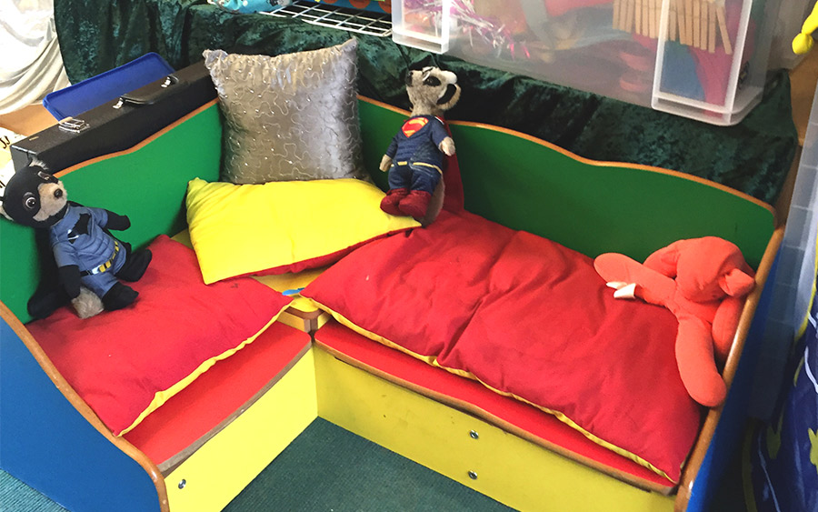 Playroom for Play Therapy in Cornwall