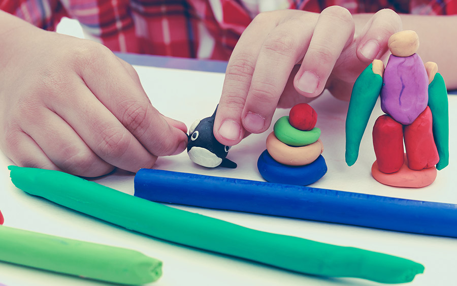 Child learning through Play Therapy