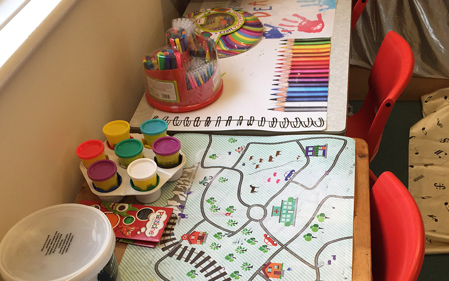 Using play and games to help secure attachment
