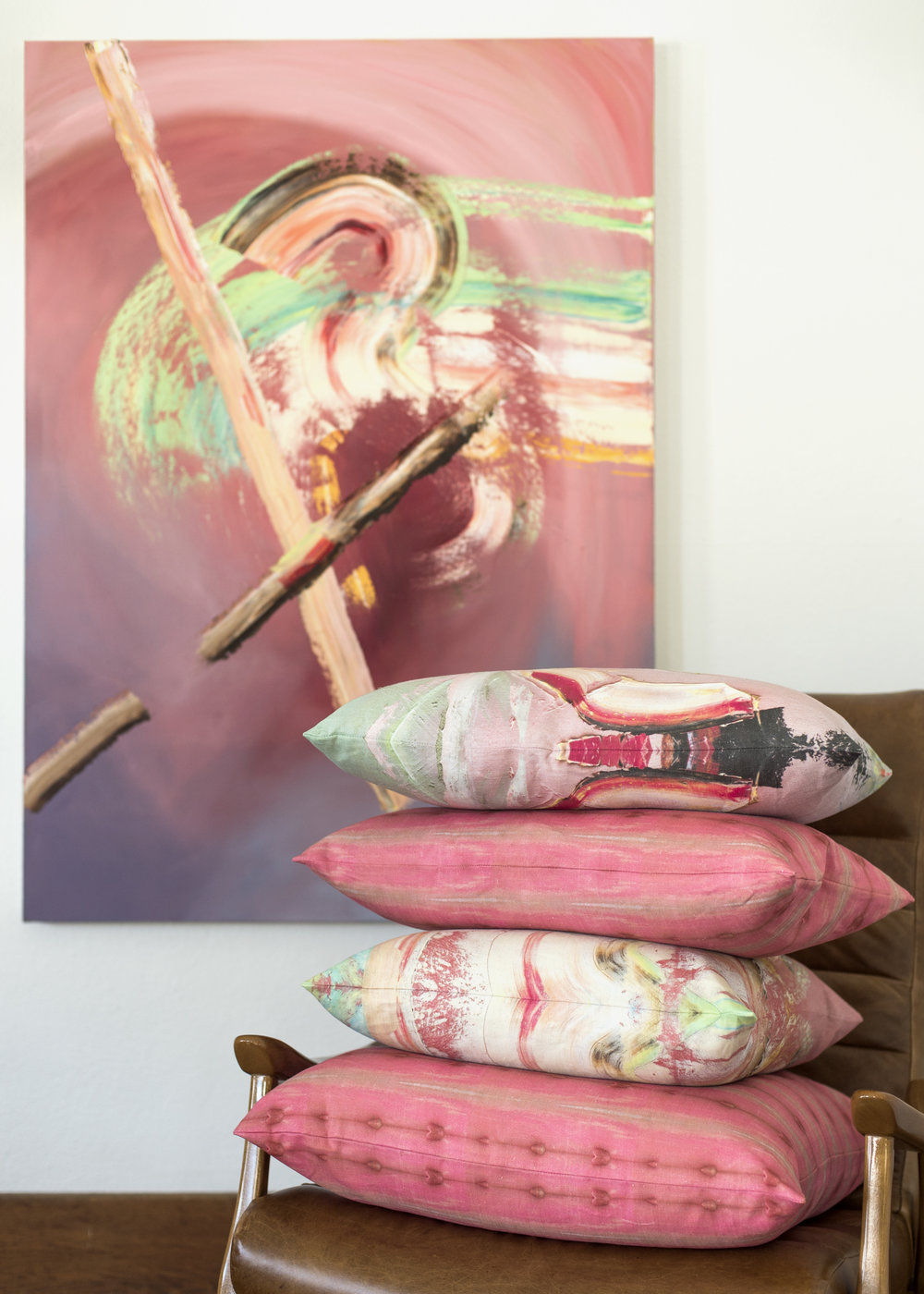 collecture allison walsh fabric pillows