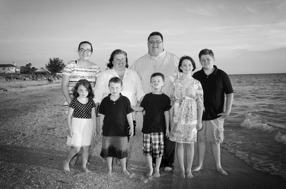 Dave Scalf - Minister (Pastoral and Preaching)Dave is Amy's husband and the dad of Sophie, Aiden, Haley, Wyatt, Steven, and Rachael.Dave loves watching