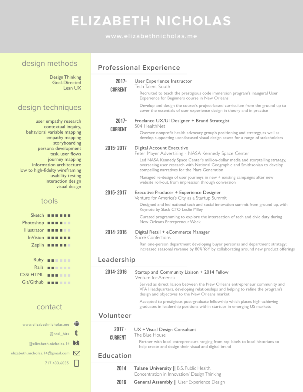 Resume 9/24
