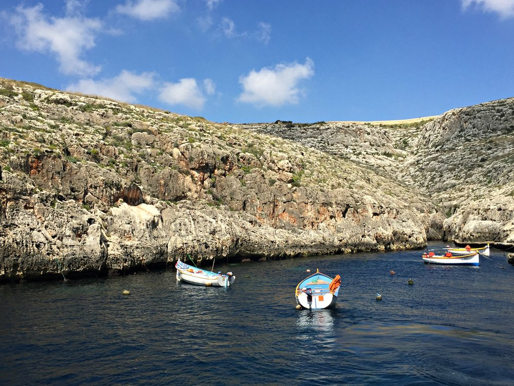 Blue Grotto Bay