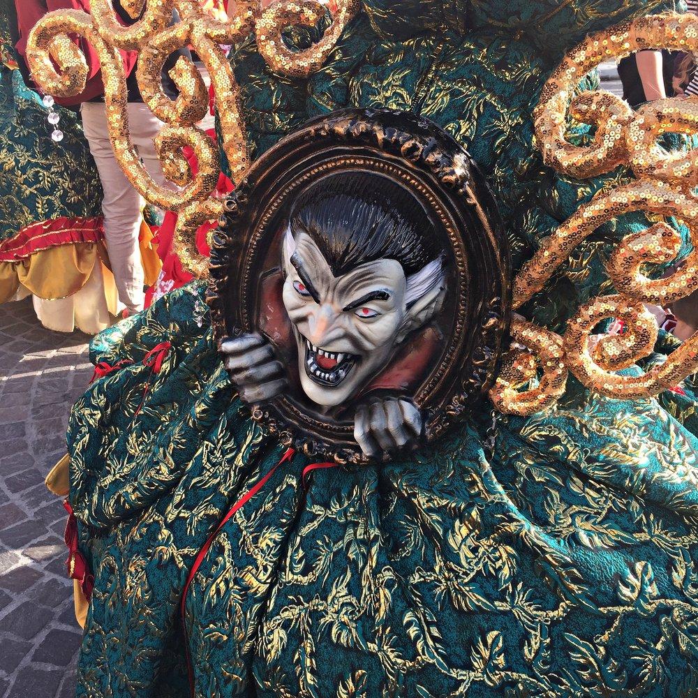 Malta Carnival Costume Detail