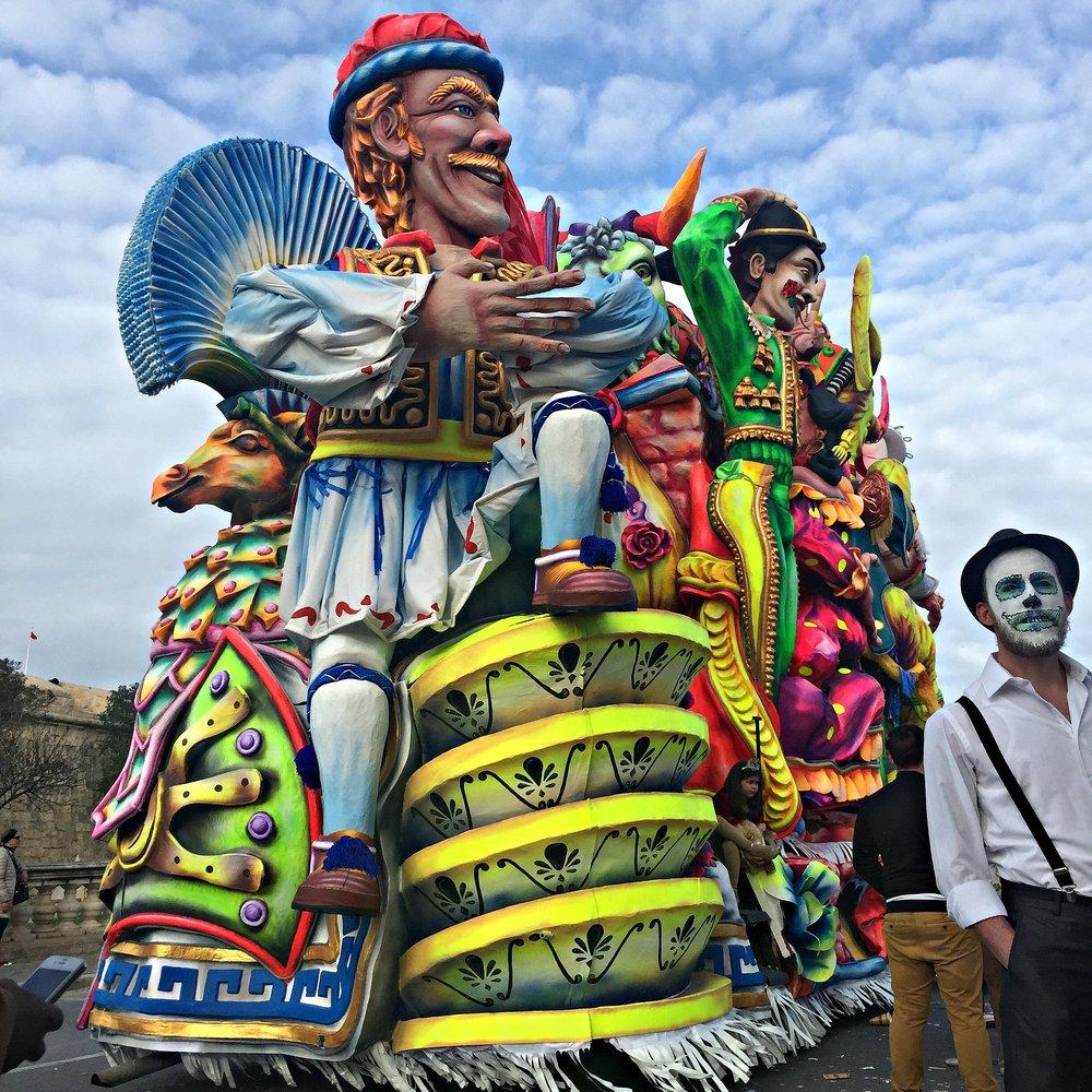 Malta Carnival Float Costume