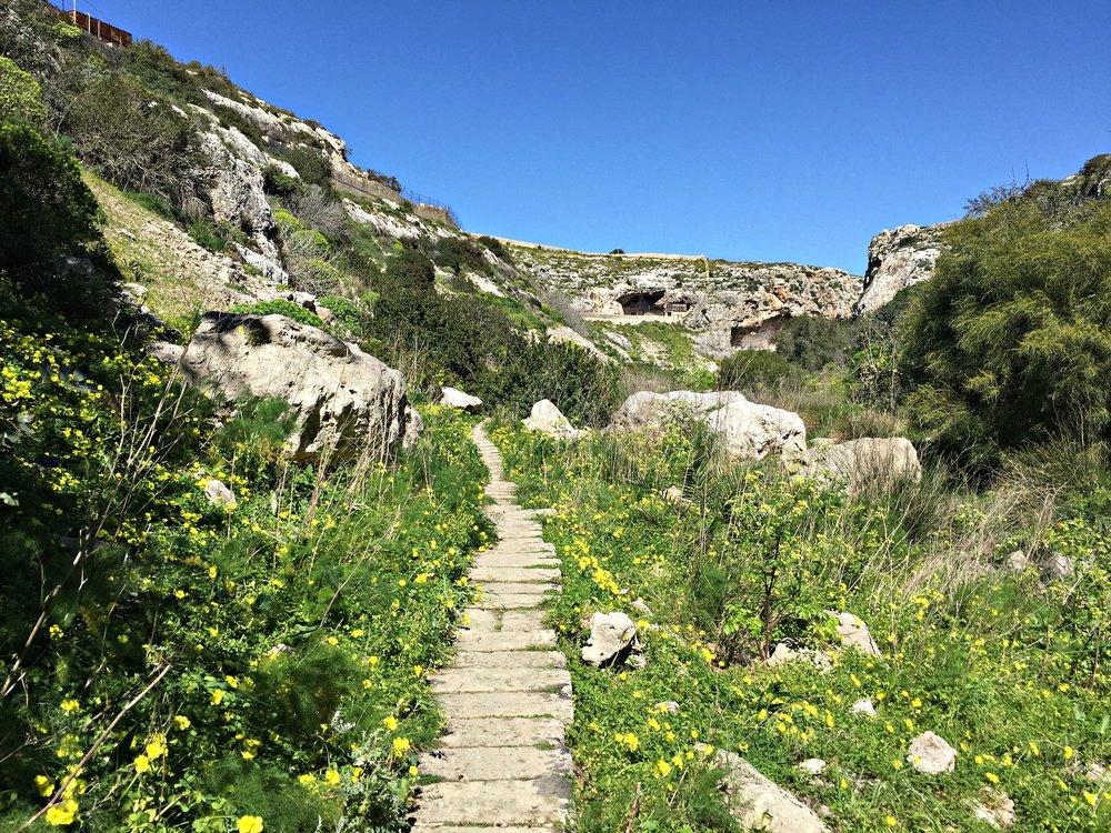 Wied il-Ghasel walk Malta