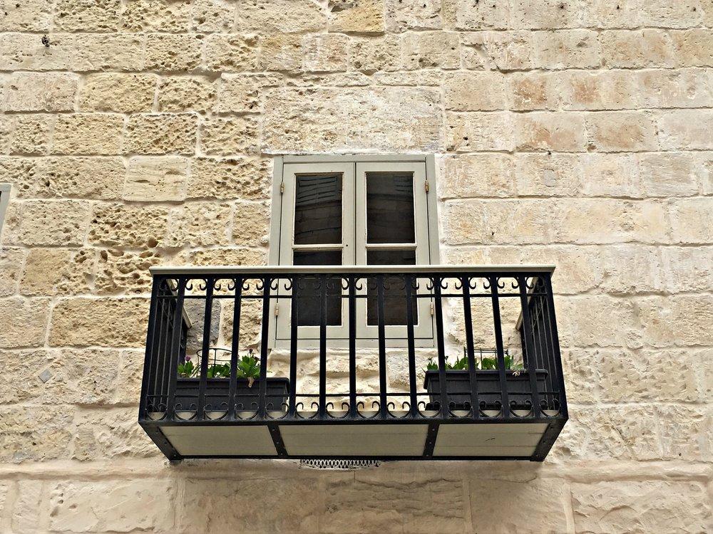 Valletta Malta Window with a Balcony