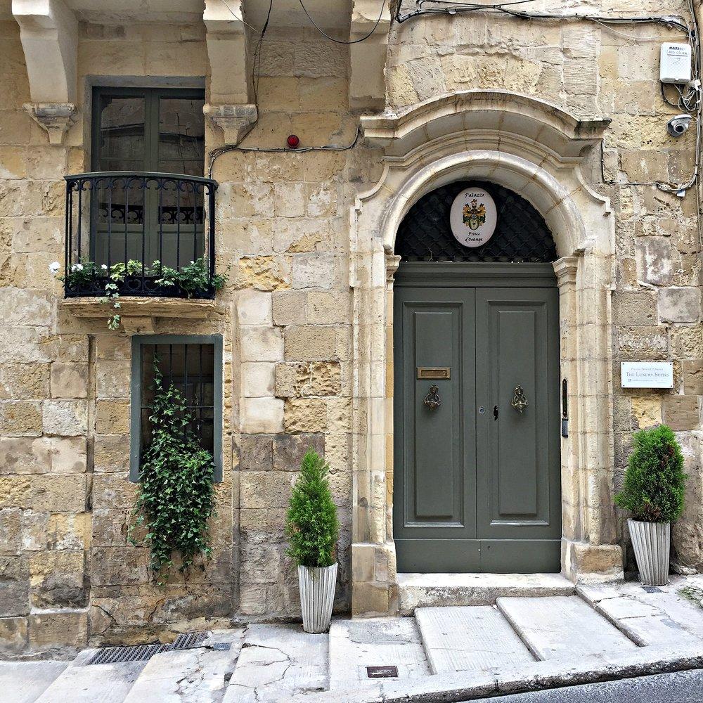 Malta Valletta Pallazzo
