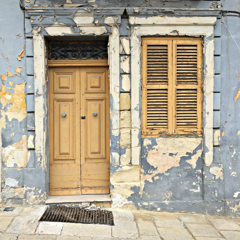 Malta Valletta Beautiful Old House