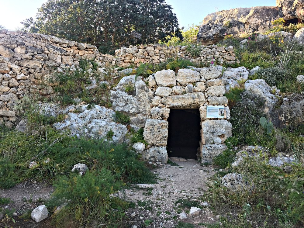 cave of the gallery xemxija heritage trial