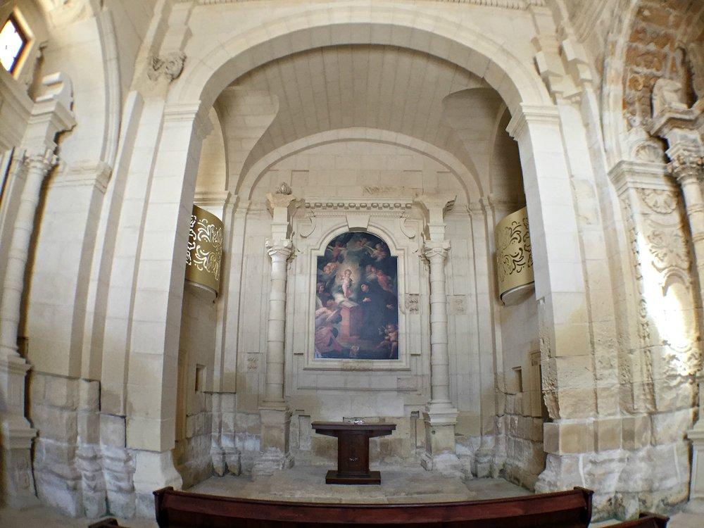 fort manoel chapel inside