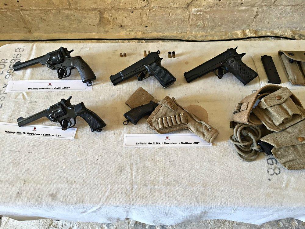 weapon display