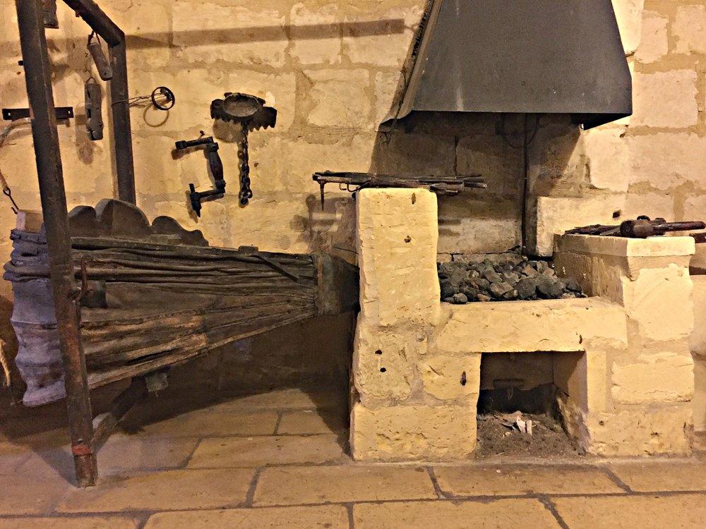ta' kola windmill fireplace