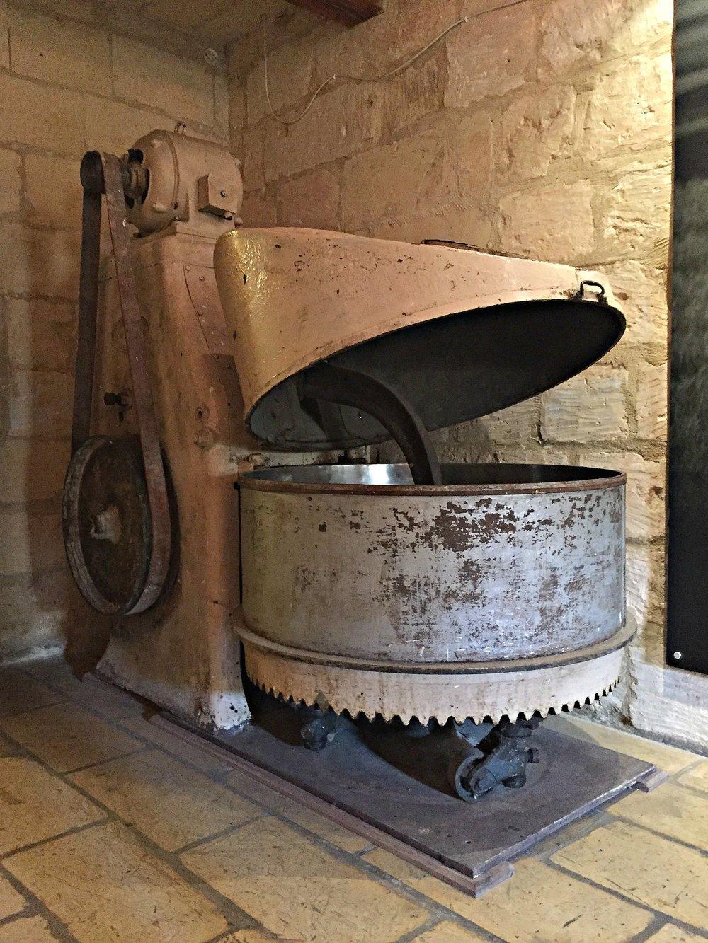 ta' kola windmill gozo machinery