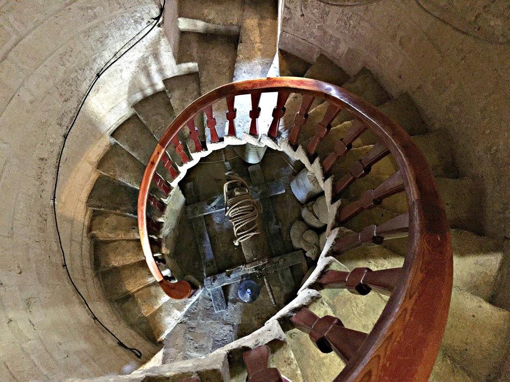 ta' kola windmill staircase