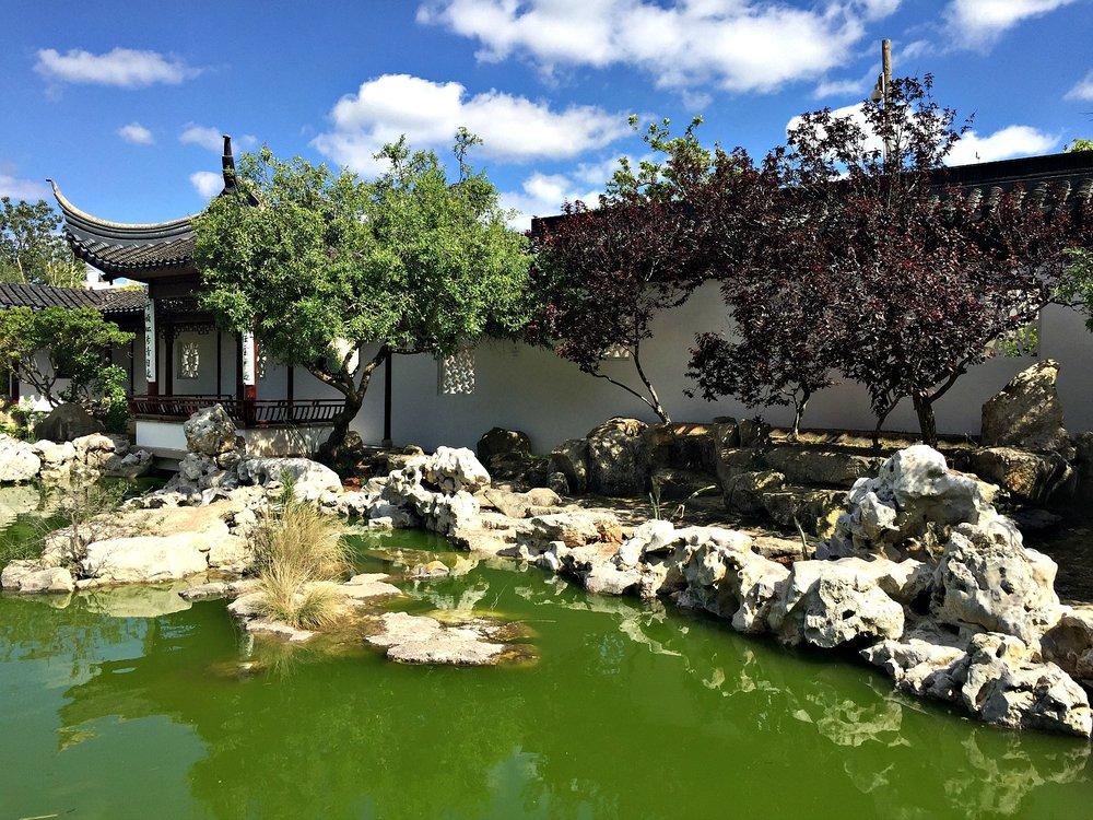 chinese garden of serenity pond malta