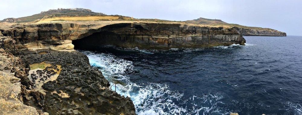 Billingshurst Cavern Gozo Panorama