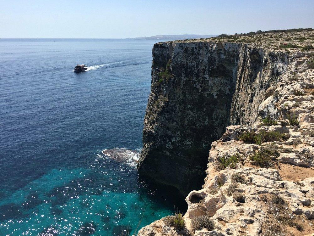 malta sea view cliffs mellieha