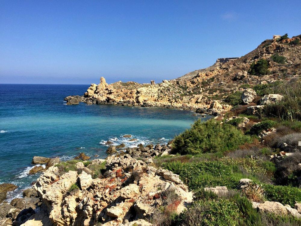 fomm ir-rih hiking trip malta