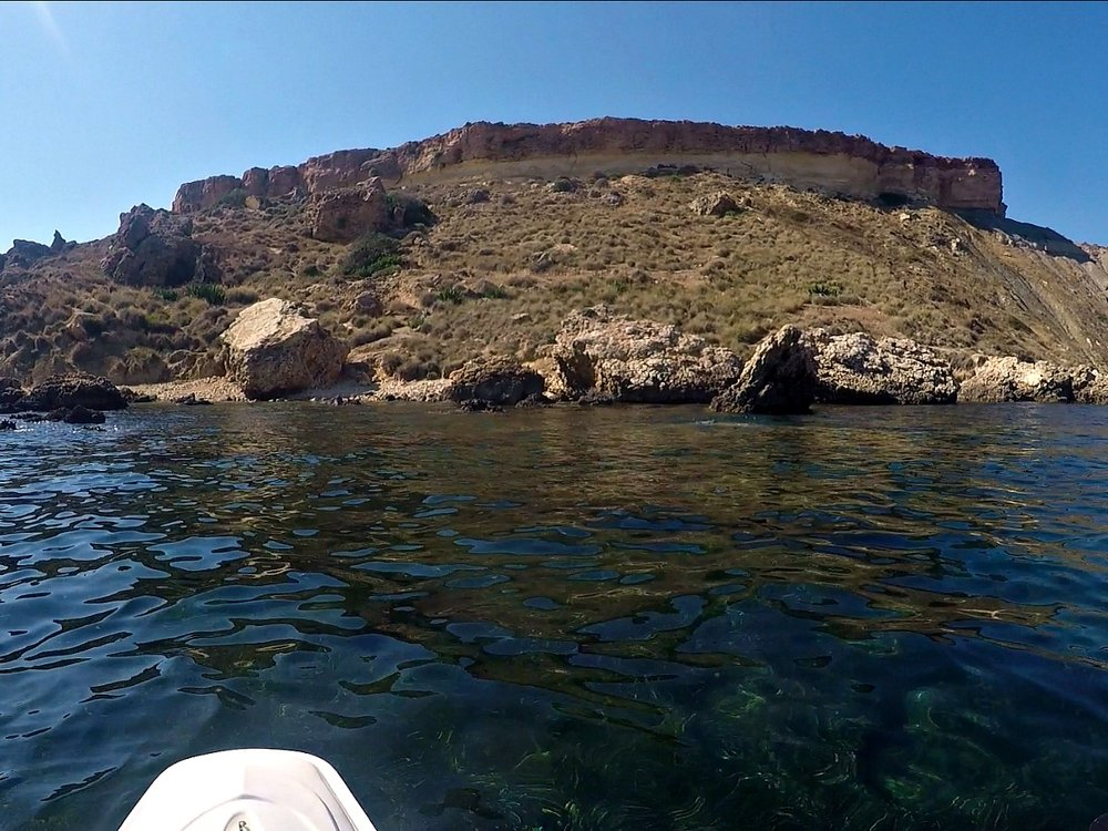 kayak adventure gnejna bay malta