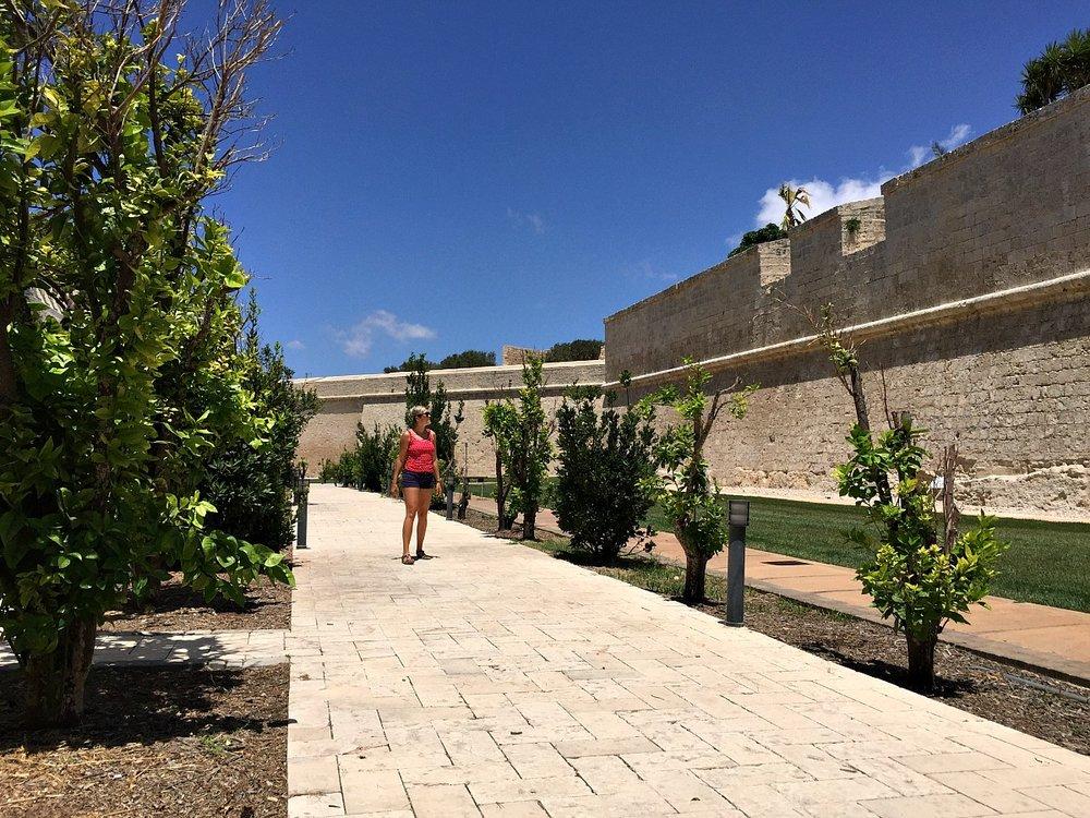 mdina ditch malta garden