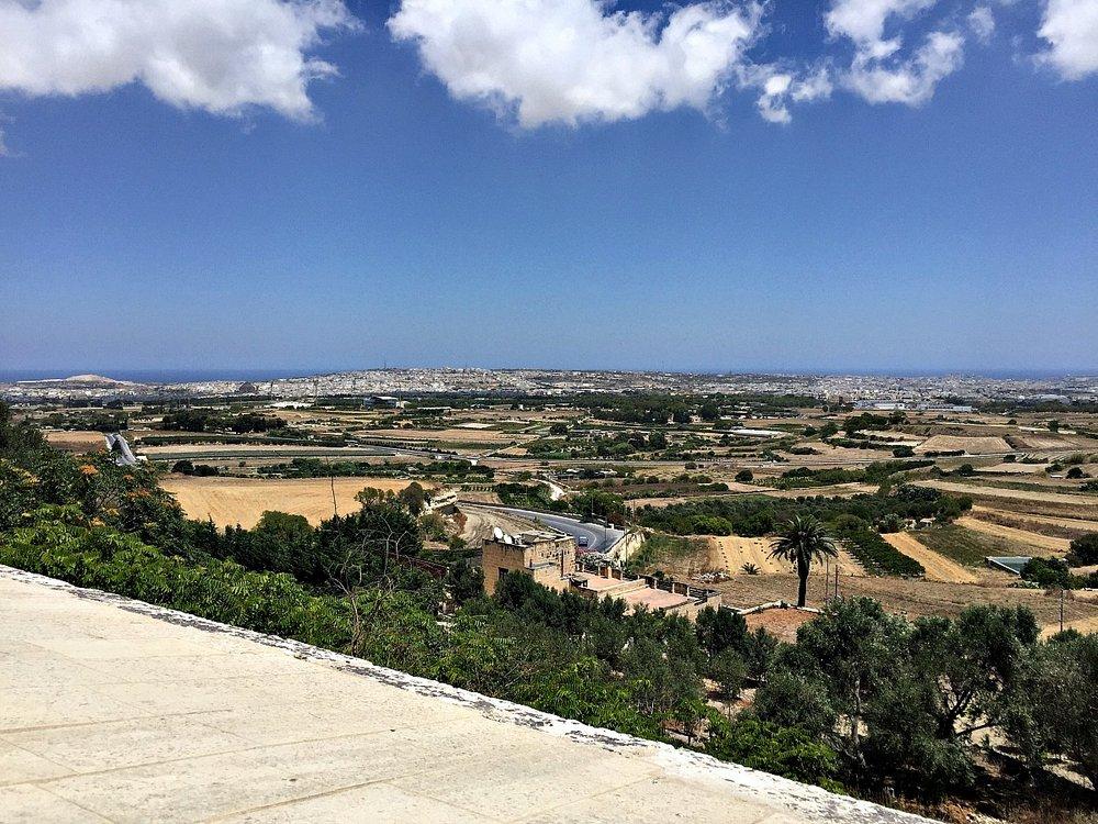 mdina ditch view malta