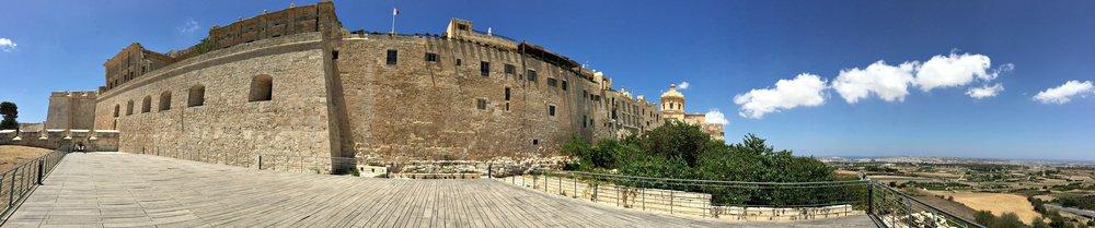mdina panorama malta view