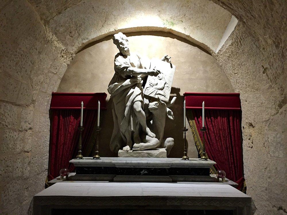 wignacourt museum malta statue of st paul