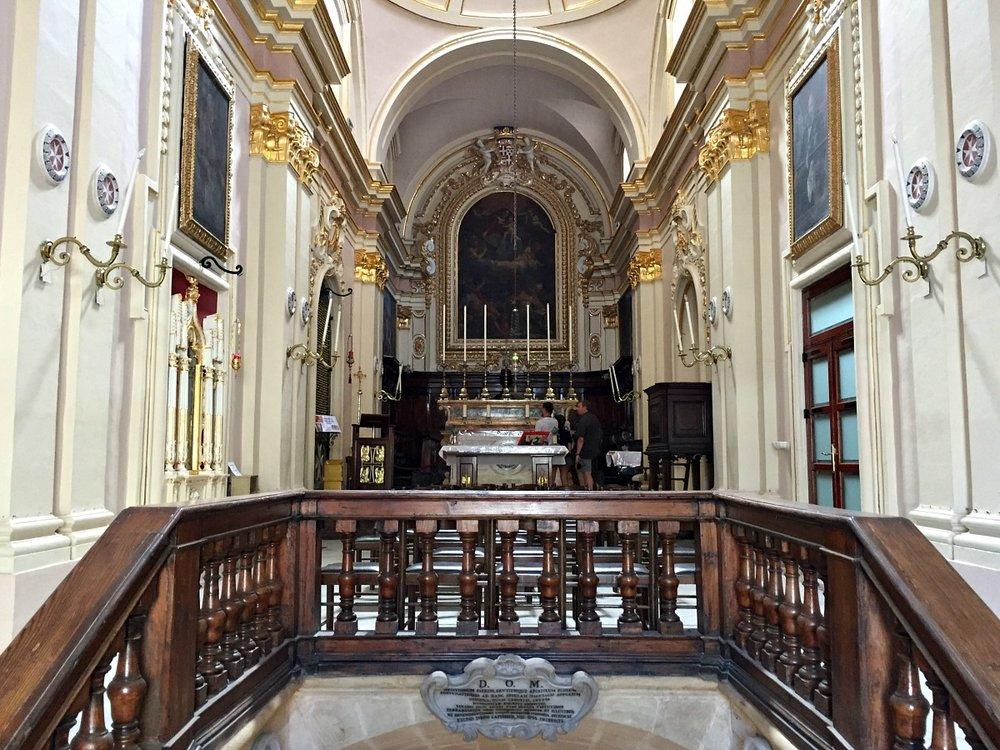 the sanctuary of st publius rabat