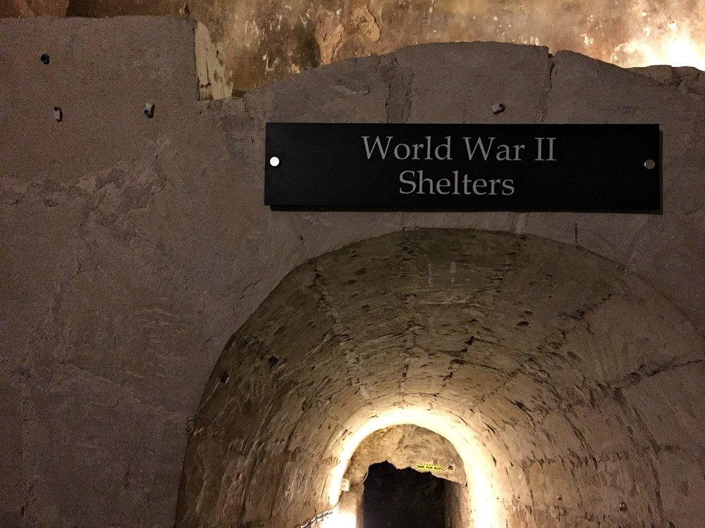 world war II shelters rabat malta